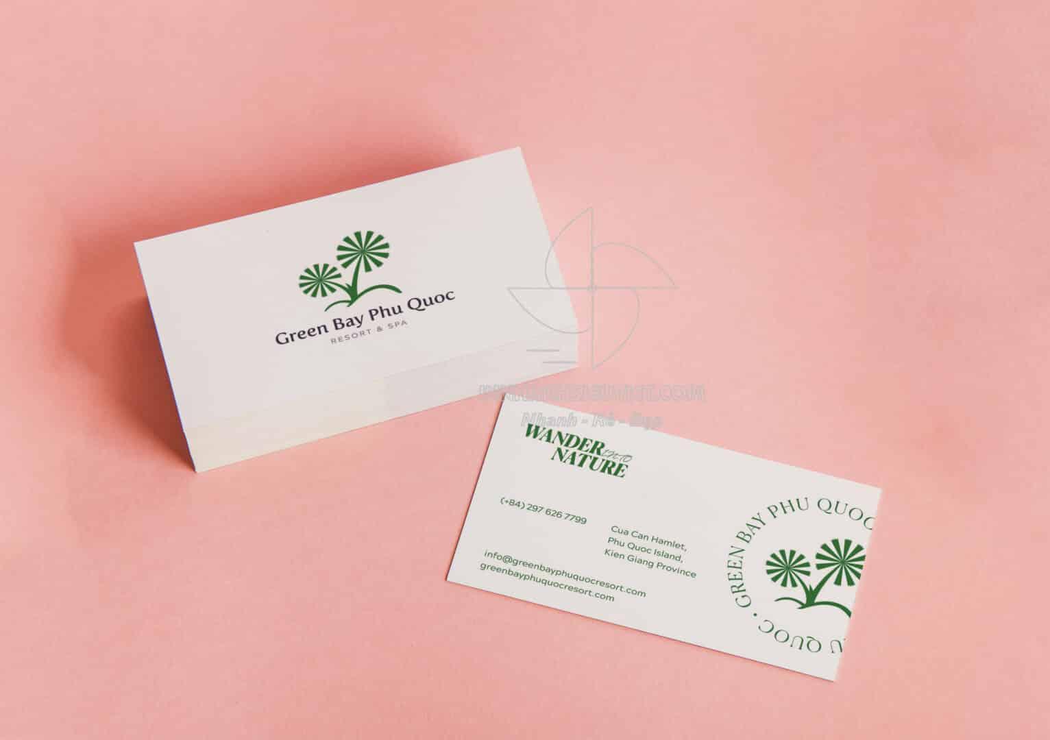 In name card lấy liên Tân Bình
