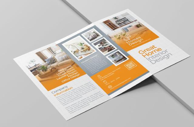 Xu hướng thiết kế in brochure nổi bật nhất năm 2021 - Brochure sử dụng màu sắc nổi bật tạo ấn tượng và thu hút khách hàng tiềm năng