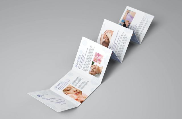 Xu hướng thiết kế in brochure nổi bật nhất 2021 - Brochure với các hình dạng khác nhau