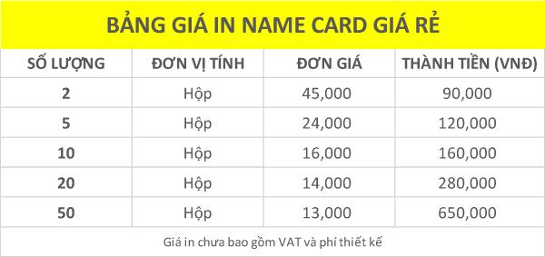 bang-gia-in-name-card-giá-rẻ